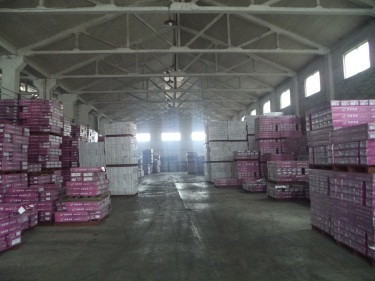Final warehouse