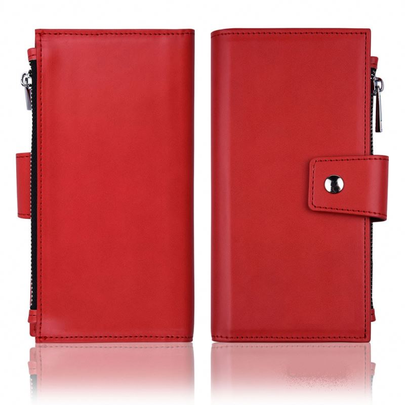 new products leather phone case for samsung galaxy note lcd screen