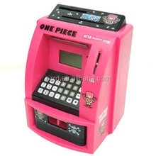 Novelty Coin Bank For Kids/Atm Piggy Bank/Atm Bank Toy For Children