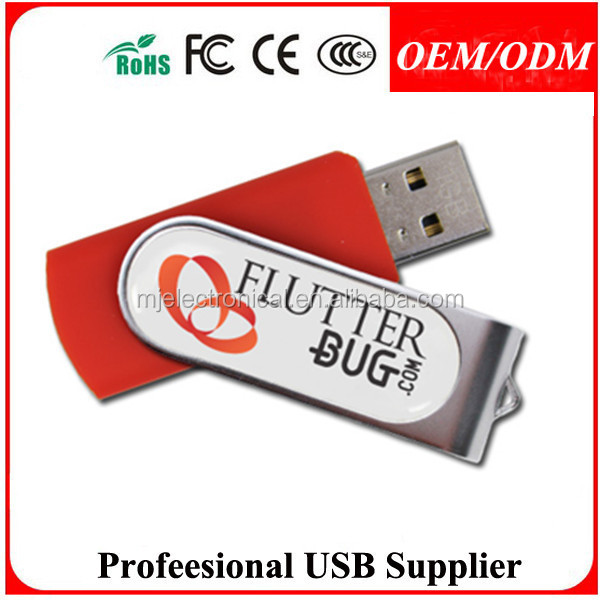 Free sample,Hot sell 100% real key ring Swivel leather usb drivers at factory price