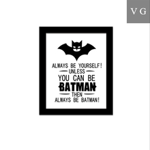 Factory direct sales Nordic style living room bat pattern Canvas wall decorative painting hall corridor background paintings