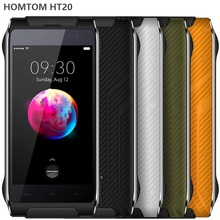 Dropshipping IP68 Waterproof 4.7 inch Android 6 MT6737 Quad 4 Core mobile phone unlocked HOMTOM HT20 16GB Rugged 4G Smartphone