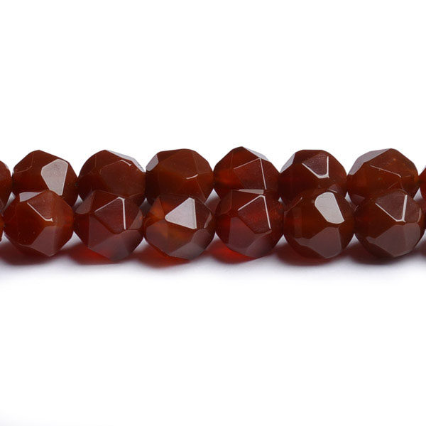 Faceted Rough Gemstones Carnelian Nuggets