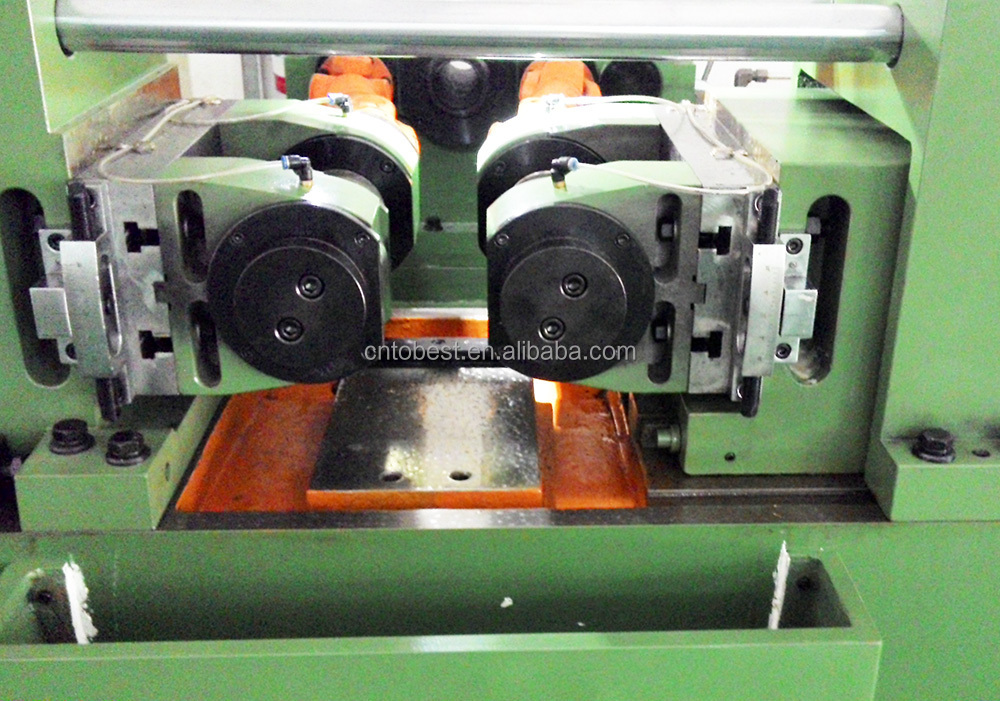 Knurling machine screw rolling machine pipe threading machine