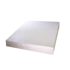 Comfort Breathable 100% High Quality Natural Latex Foam Mattress Sheet Best Double Pinholes Bed Mattress for sale
