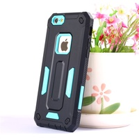 High protect design TPU+PC phone back cover for iphone 6, 6p, 7