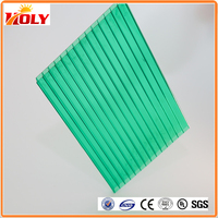 High quality polycarbonate sheets 6mm 8mm hollow polycarbonate plastic sheet for green house