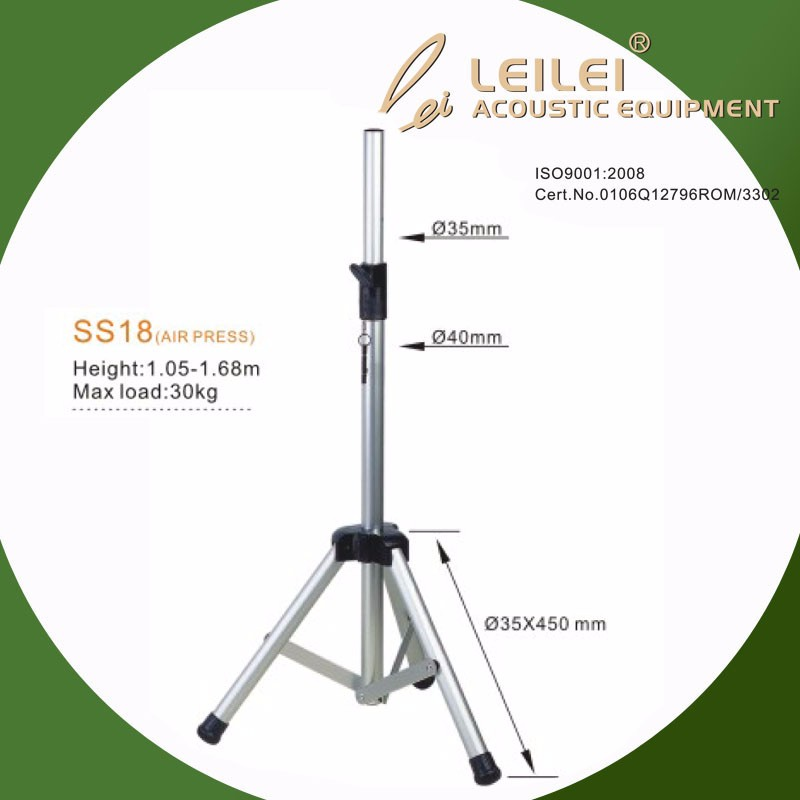 Professional air press speaker stand with height adjustable