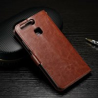 Hot Selling for Huawei P9 Case Wallet Style PU Leather Case for Huawei Ascend P9 with Stand Function and Card Holder 6 color