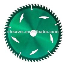 Wood Cutting TCT Circular Saw Blade With Green Varnish