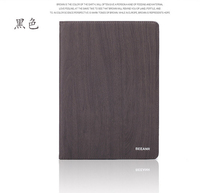 Superior quality wood grain PU leather protective cell phone case for ipad mini 3, fashionable folding leather case for ipad