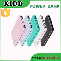 Promotion gift polymer portable power bank 10000mAh made in China