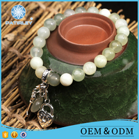 Jade Stone Women Accessories Charms For