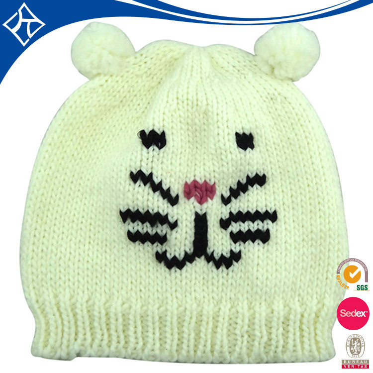 fashion fancy wool crochet pattern crochet animal hat for child
