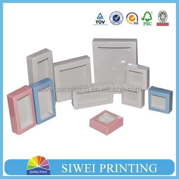printed clear plastic folding box with hang hole including inner tray in packaging boxes/storage boxes