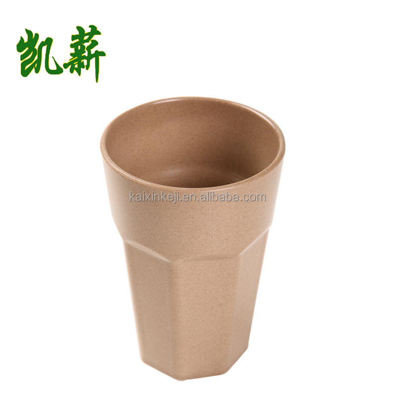 Especial design Eco friendly Good quality Reusable healthy rice husk deep drinking cup coffee cup