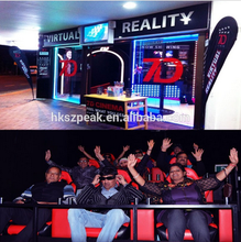 Big promotion low investment high profit business!amusement rides for sale 7d cinema with 140 5d movies and 15 special effects