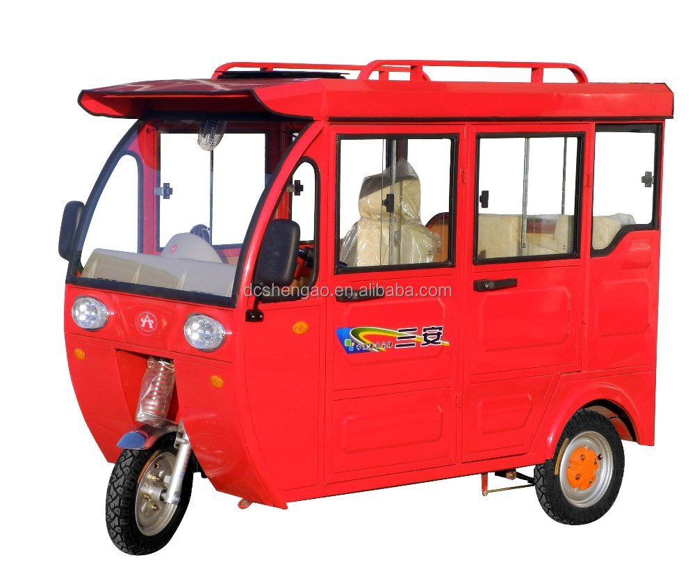 three wheeler taxi for sale/electric tricycle tuk tuk/parts factories tuk-tuk in china