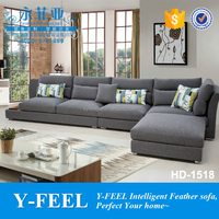Free combination sofa set designs with washable cover item HD-1518