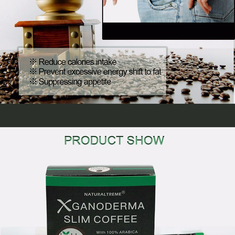 2016 New Arrival No Redounding Ganoderma Coffe Private Label
