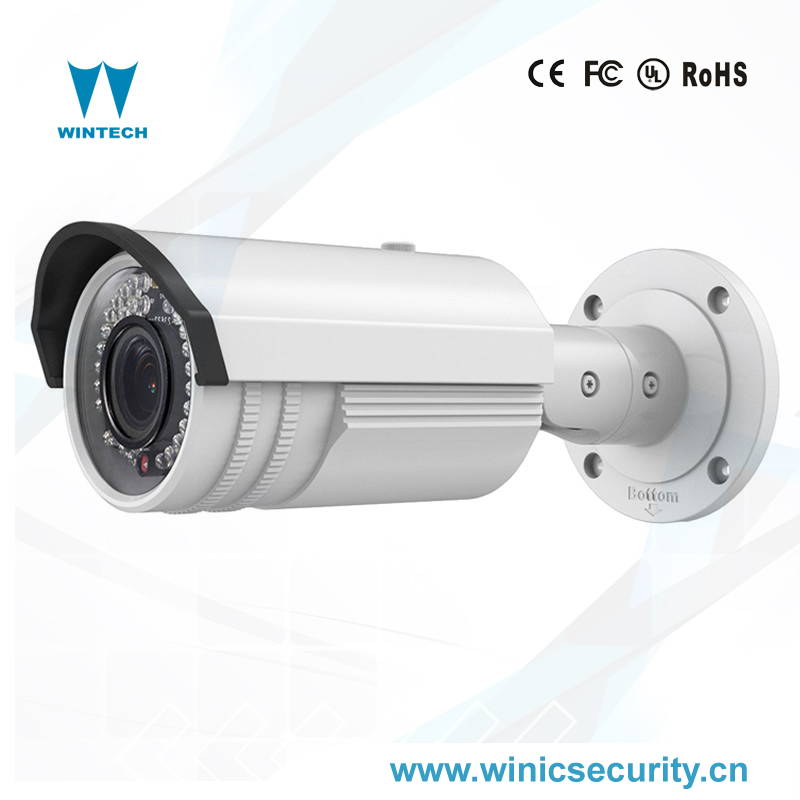 3 megapixel cctv outdoor water proof bullet hikvision ip security camera with POE