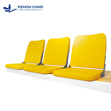 2017 high quality HDPE folding chairs for outdoor and indoor stadium or gymnasium