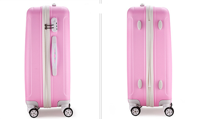 Vintage Spinner ABS PC Travel luggage suitcase set