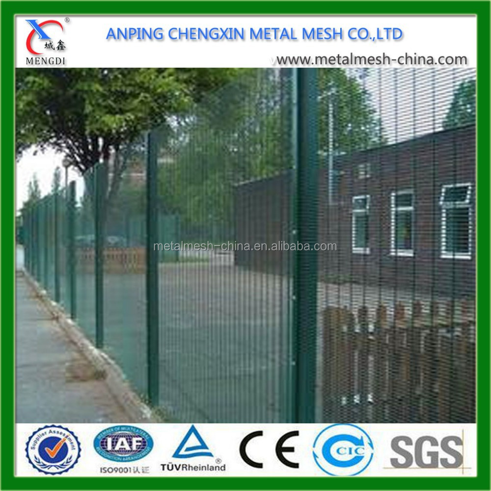 ISO9001 Powder Coated 358 Security Fence Prison Mesh (High Quality and High Security)