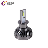 Factory Price Smallest Dimension Ip68 4000Lm 360 Degree Canbus Car Headlight ETI Led H3 With Mute Fan