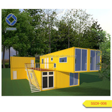 Multi function cheap manufactured sea container houses