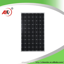 250w solar panel/ single crystal silicon solar cells