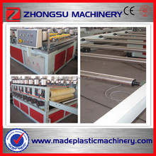 3-25mm 1220mm Hot WPC Shuttering Construction Making Machine/Plastic Wood Machine/Building Template Production Line