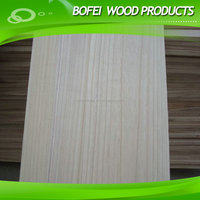 Paulownia Lumber Edge Glude Panel Solid wood Boards