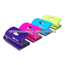 normal/jumbo metal/plastic 2 hole colorful paper punch for school office