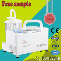 China manufactory portable medical suction feeder plastic machines