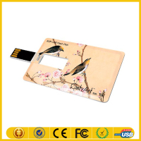 Alibaba china supplier business card usb flash memory card with hight quality