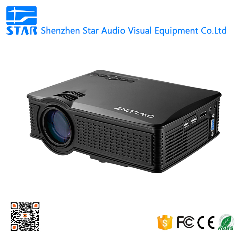 SD50 plus Mini led projector 1080P contrast ratio 1000:1 1500 lumens home cinema projector