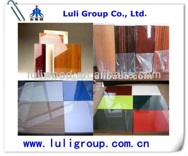 Polyester mdf /paper overlaid mdf/pvc mdf
