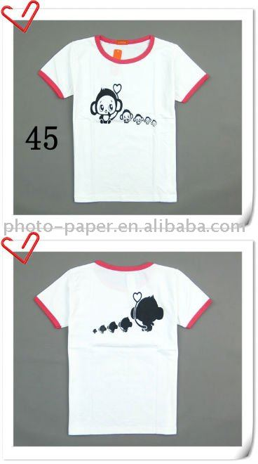 Dark T Shirt heat transfer paper, make your own special T shirt!