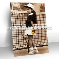 Popular 3d picture of young girl in sport tennis (OP-028)