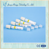 Single use vacuum separate gel for blood test tube