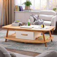2017 Top Sale Nature Wooden Furniture Wood Coffee End Table