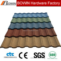 Good quality building material stone coated metal roof tile /galvalume metal roof tile /colorful roof shingle