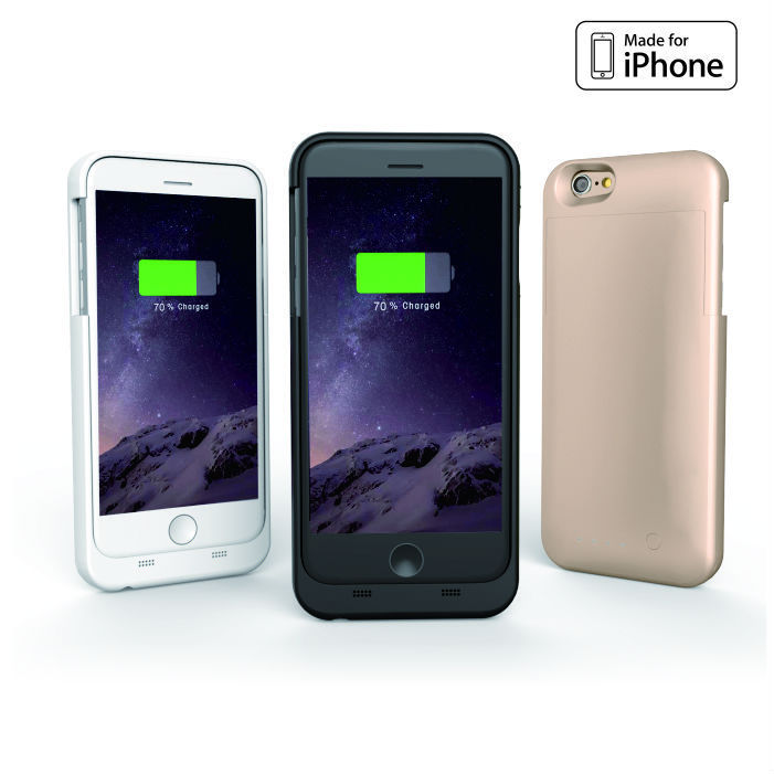 Top selling 3200mAh for apple iphone 6 external battery charger power bank case