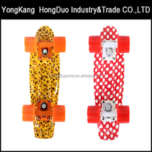 skate board color wave board skateboard