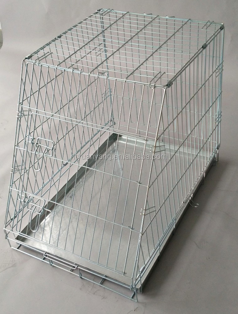 galvanized dog cage for car