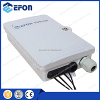 Popular Model 4 pair FTTH Mini Fiber Optic Terminal Box with Cable Gland