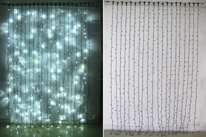 Outdoor Waterproof Commercial Led Curtain Lights Buy Commercial Led Curtain Lights Multi Color