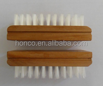 Alibaba hot selling wooden Nail cleaning Brush Natural Color with durable quality