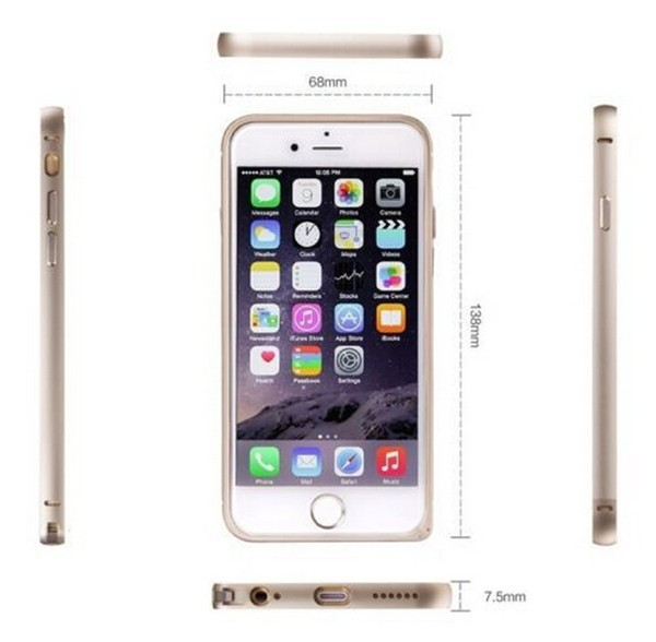 Cheap price high quality mobile phone case for iphone 6, for iphone 6 bumper frame case